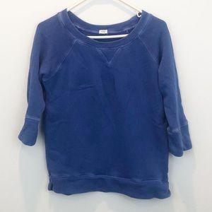 J crew   Blue Sweatshirt